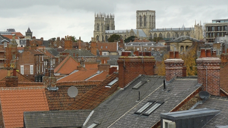 Work begins on St Denys Church, York